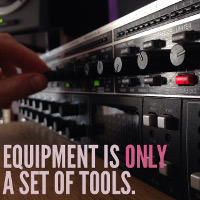 Equipment is Only a Set of Tools
